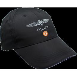 Casquette DESIGN4PILOT Microfibre noire DESIGN 4 PILOTS - 1