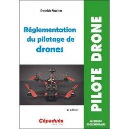 Livre Règlementation du pilotage de drones CEPADUES - 1