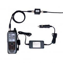 RADIO PORTATIVE ICOM IC-A25CEFR certifiée ICOM - 1